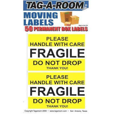 Fragile Stickers 2.5'' x 4'' 50 Labels
