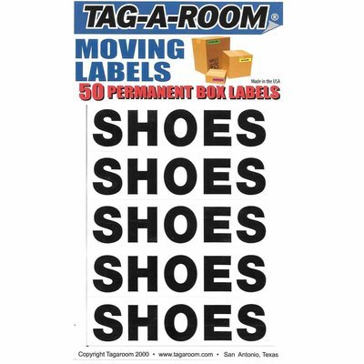 Box Content Moving Label (Shoes)