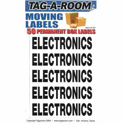 Box Content Moving Label (Electronics)
