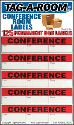 Office - Label - Conference Room - 125 Count