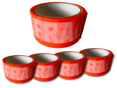 Tag-A-Room® Tape - Fragile - (4 PACK)