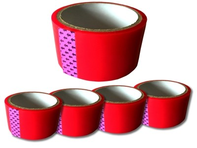 Tag-A-Room® Tape - Red - (4 PACK)