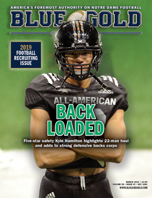 BGI March 2019: Football Recruiting Issue 6001-3815