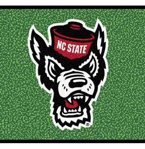 NC State Wolfpack Putting Green Mat Rug