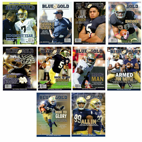 Notre Dame Football Preview Magazine - Print Back Issues