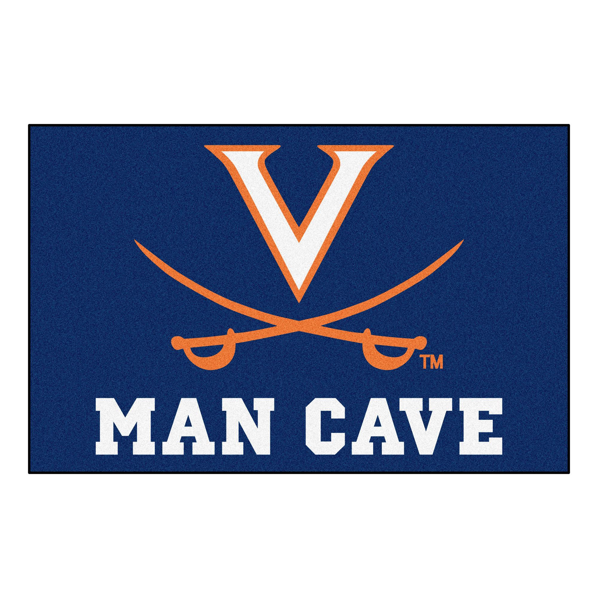 Virginia Cavalier Man Cave Rug/Mat: 4 Sizes Available! 3251-MC