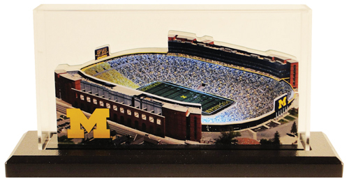 huge discount 5701c 957be Michigan Stadium Replica w/LED Lighting and Display Case