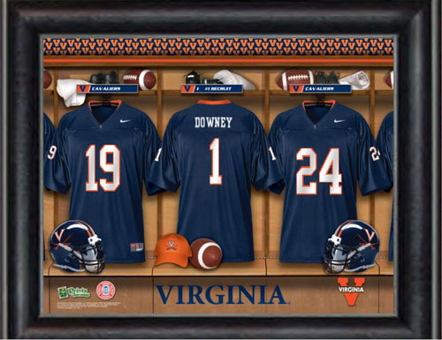Customized Virginia Locker Room Jersey Print 3313