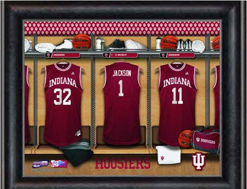 Customized Indiana Locker Room Jersey Print