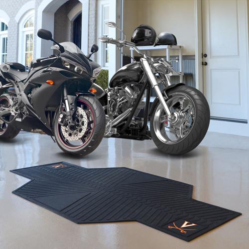 Virginia Cavalier Motorcycle Mat