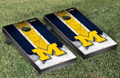 Michigan Cornhole Game Set - Vintage Design