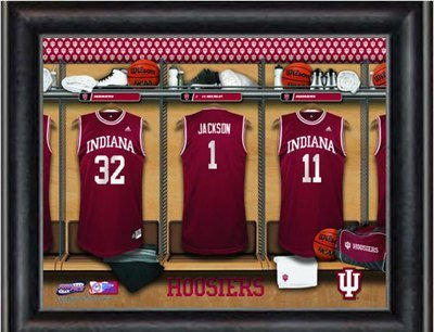 Customized Indiana Locker Room Jersey Print