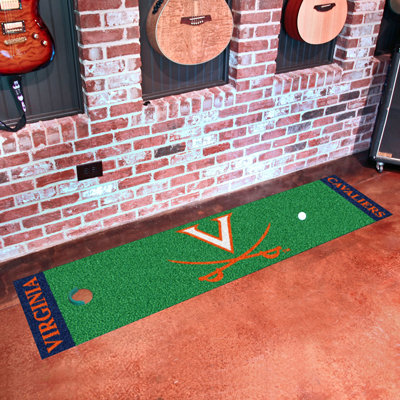 Virginia Cavalier Putting Green Mat Rug