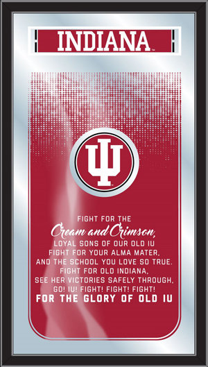 Indiana Fight Song Mirror