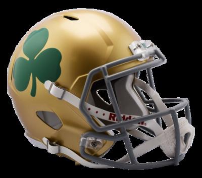 Notre Dame Shamrock Speed Replica Helmet by Riddell