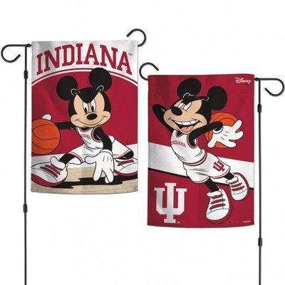 Indiana Mickey Mouse Garden Flag