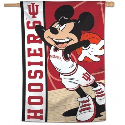 Indiana Mickey Mouse Vertical Banner