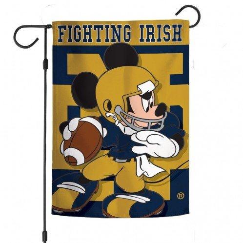 Notre Dame Mickey Mouse Garden Flag 6136