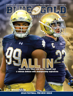 2018 Notre Dame Football Preview Magazine 6059