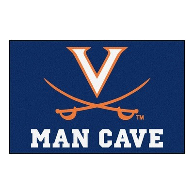 Virginia Cavalier Man Cave Rug/Mat: 4 Sizes Available!