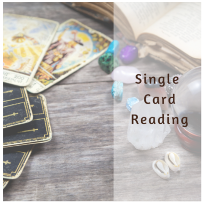 Single Card Reading