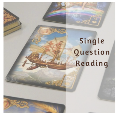 Single Question Lenormand Reading