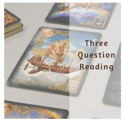 Three Question Lenormand Reading