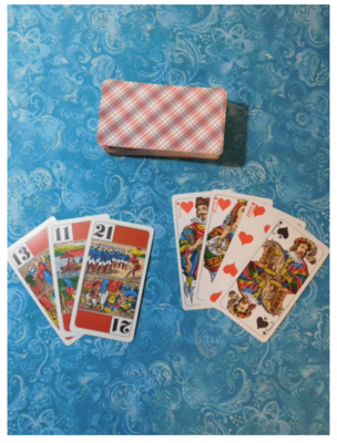 Tarotrumps Vintage Card Game (Out of Print)