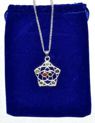Seed of Life Chakra Necklace