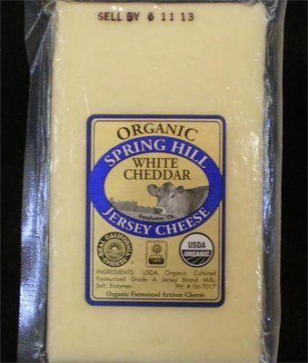 Organic White Cheddar CW