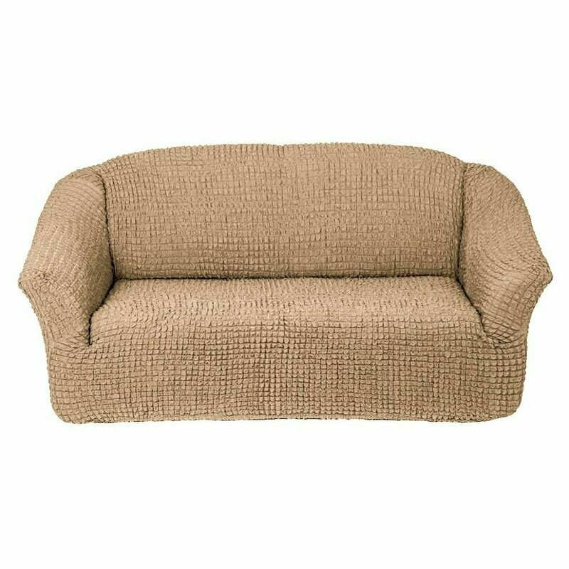 Чехол на трех местный диван без оборок