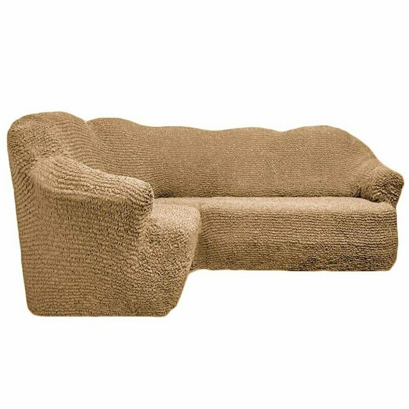 Чехол на угловой диван без оборки
