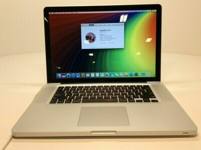 MacBook Pro 15in I7 16GB 500 GB Solid State