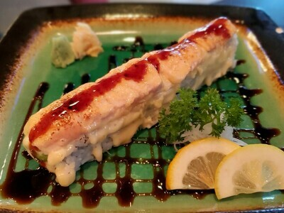 Baked Salmon Roll