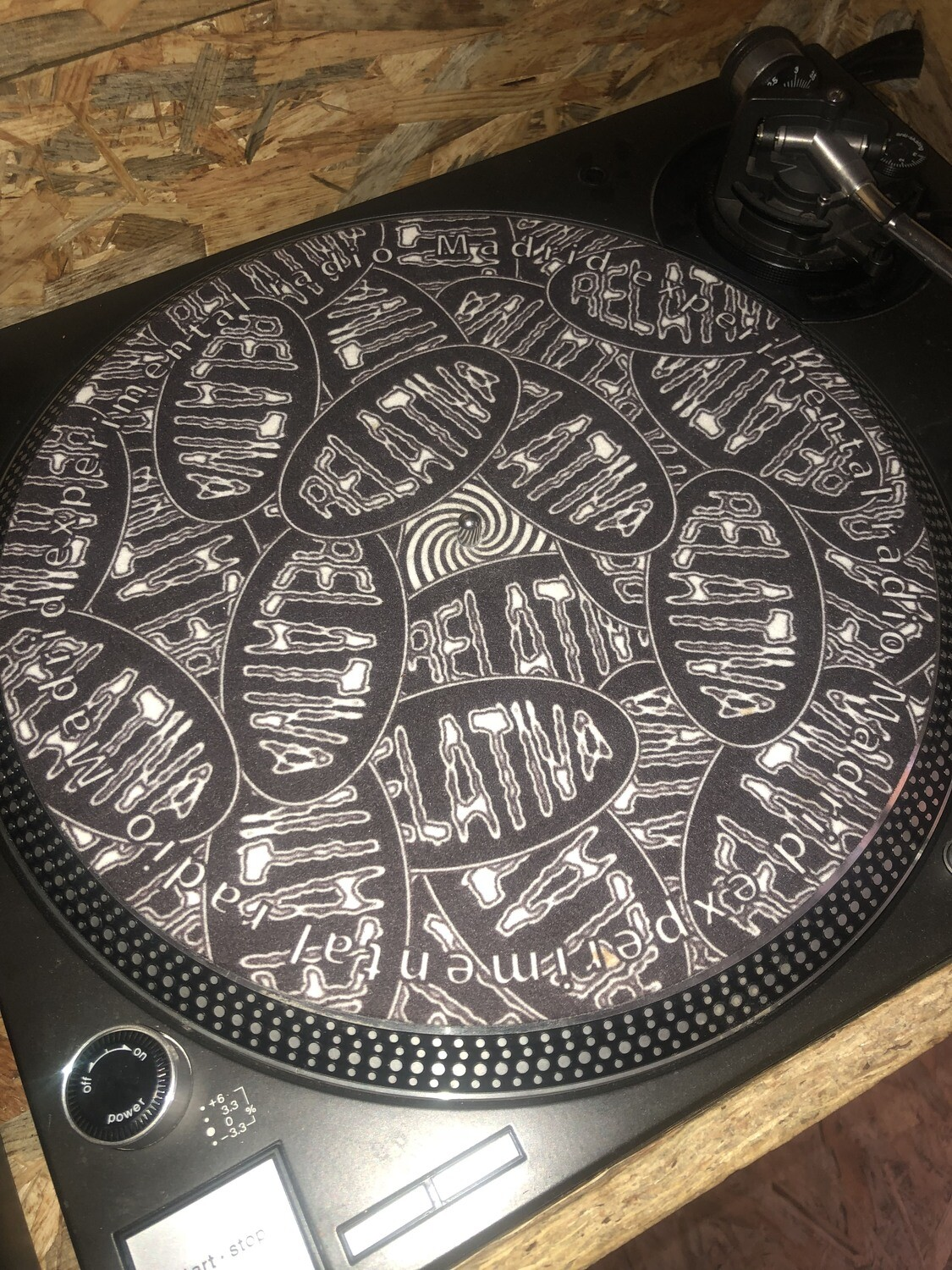 Vinyl Slipmat Relativa