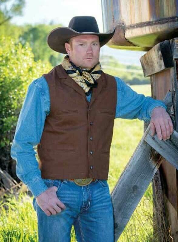 Bronco Canvas Vest