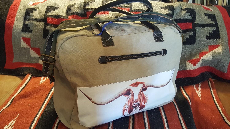 Longhorn Duffle Bag