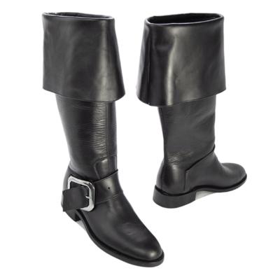 Santa Boot Leather Cuff