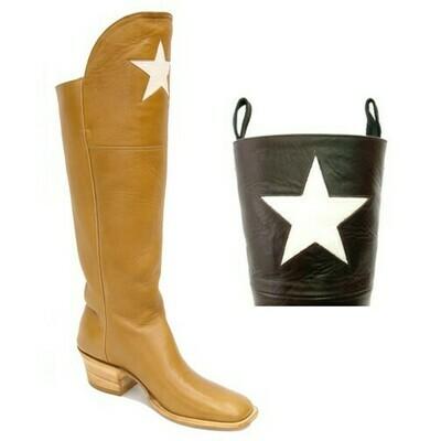 TEXAS STAR CAVALRY CUSTOM BOOTS