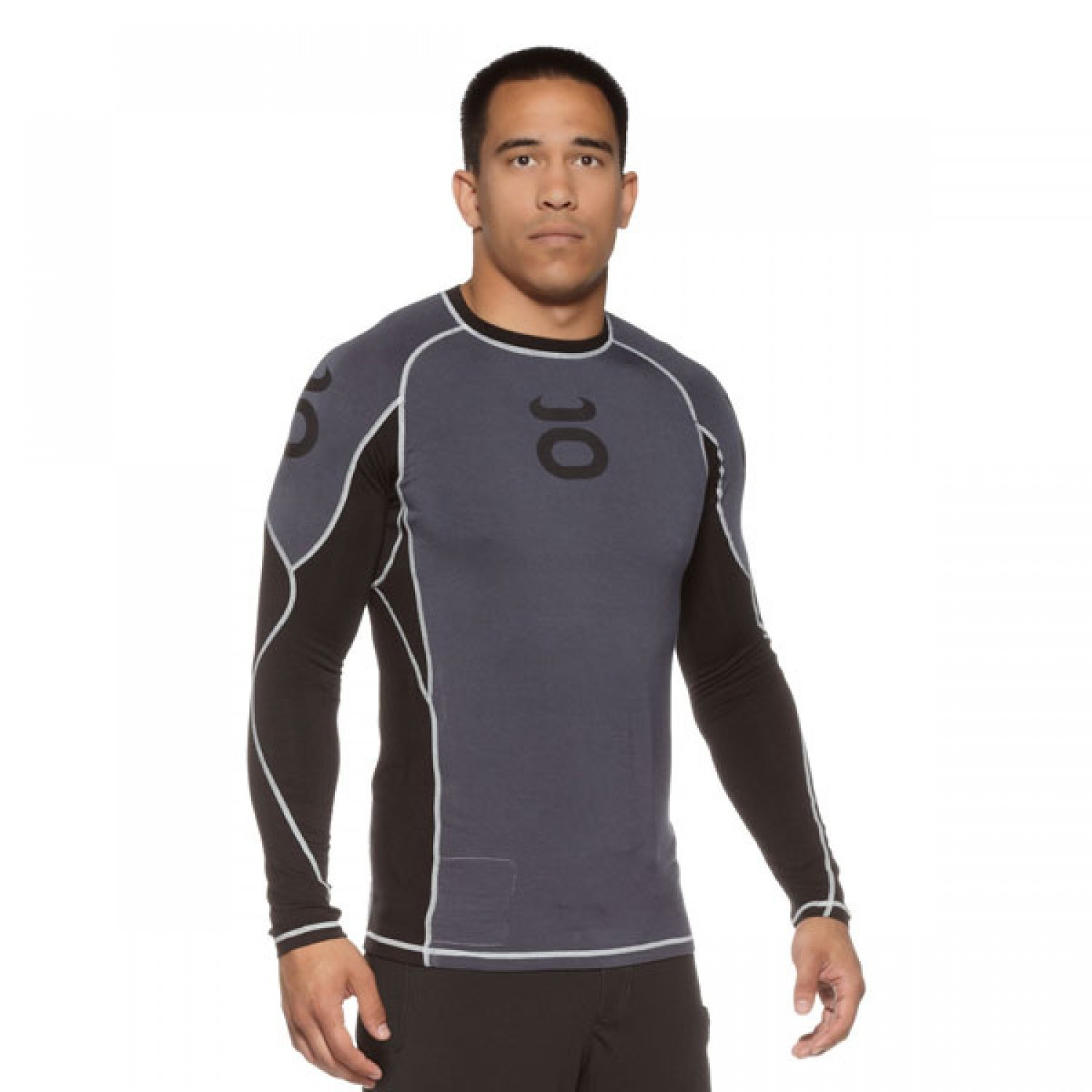Bamboo Performance Training Top - Long Sleeve (Nubious Grey)