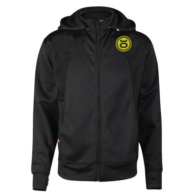 JACO Athletics Team Convertible Hoodie/Jacket (Black/SugaFly Yellow)