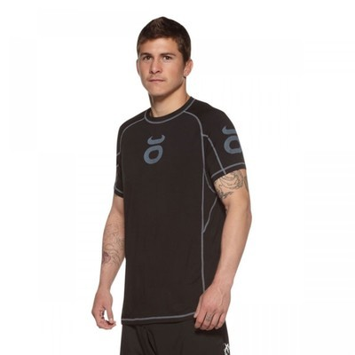 Bamboo Performance Training Top - Short Sleeve (Black)