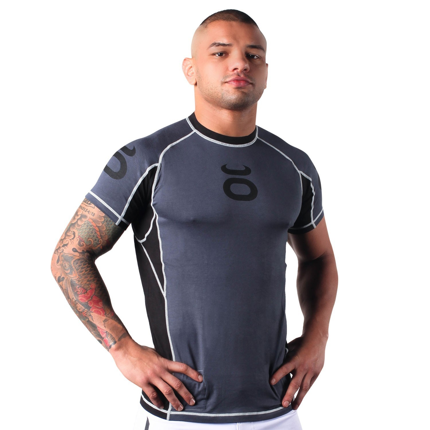 Bamboo Performance Training Top - Short Sleeve (Nubious Grey)