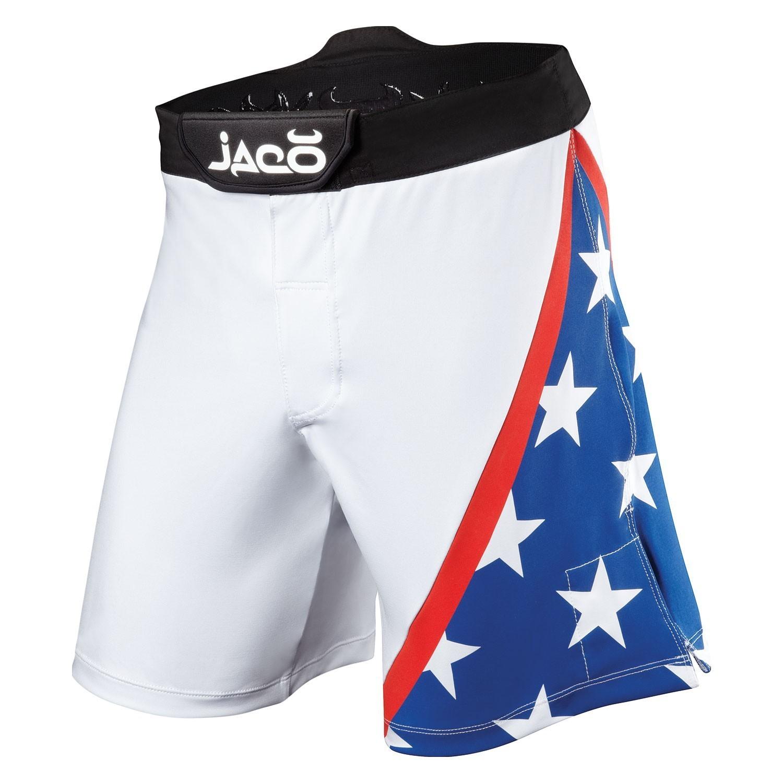 USA Resurgence Fight Shorts (White)