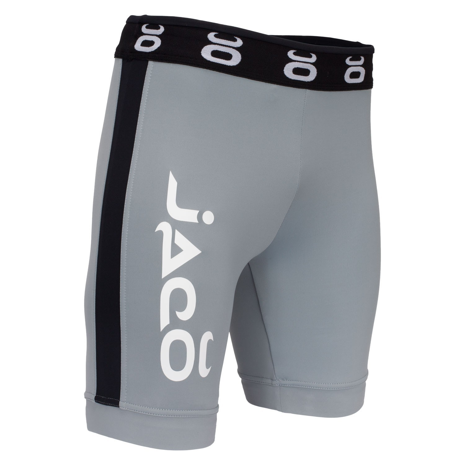Vale Tudo Fight Shorts - Long (Grey/Black)