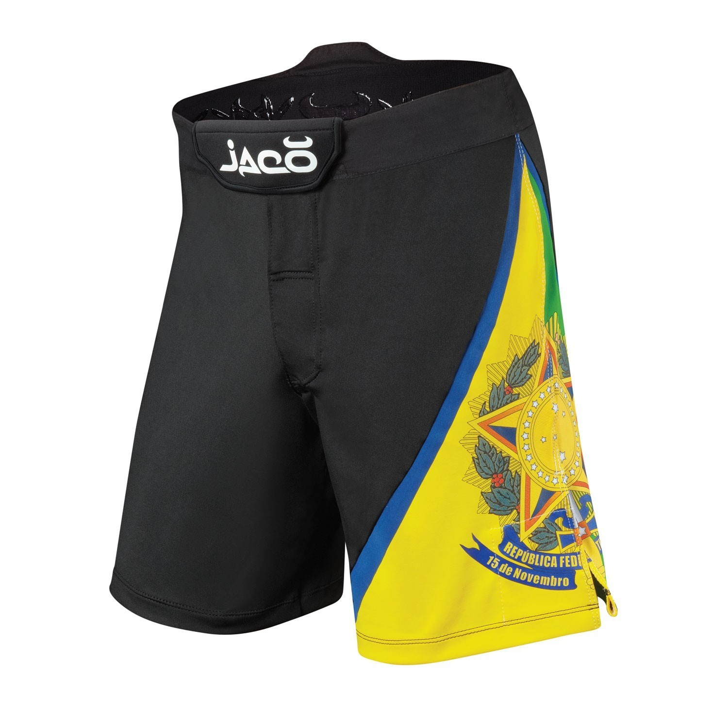 Brazil Resurgence Fight Shorts (Black)