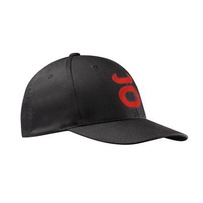 Tenacity FlexFit Cap (Black/Warm Red)