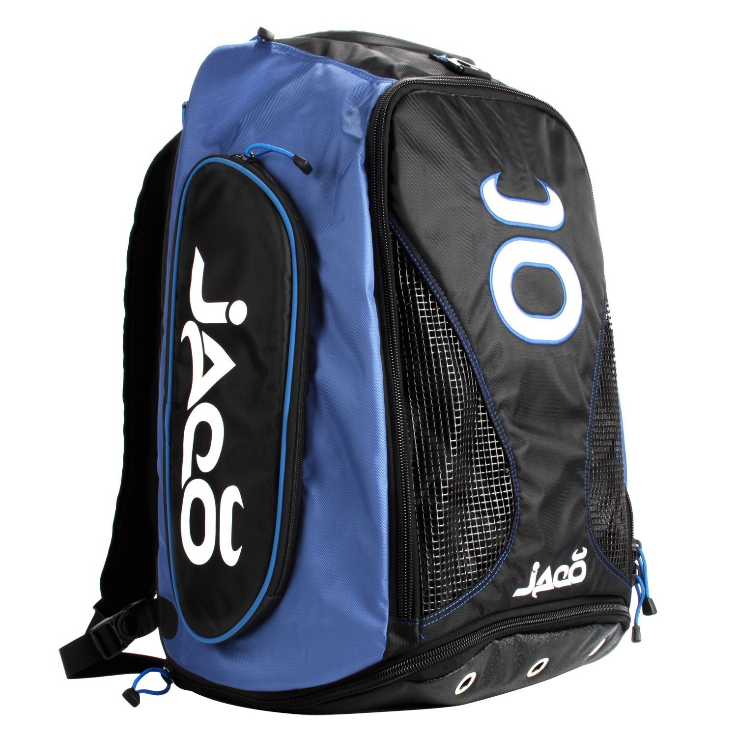 Vented Convertible Equipment Bag 2.0 (Black/Cobalt Blue)