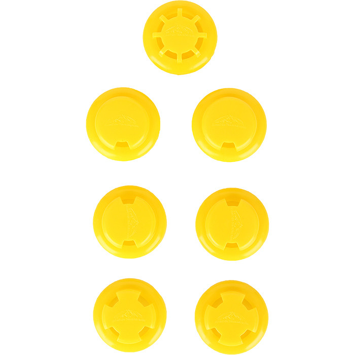 Training Mask 2.0 Yellow Resistance Valve Set