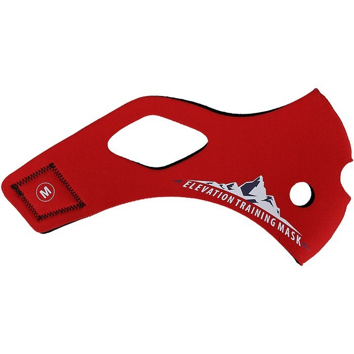 Training Mask 2.0 SOLID RED SLEEVE